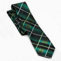 Arrow Jewel Plaid Tie - Men, Size: One