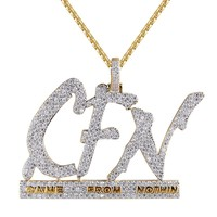 Men's CFN Came From Nothin Hustle Iced Out Pendant