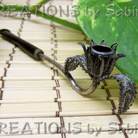 Vintage European Silver Filigree Womens by CREATIONSbySabine