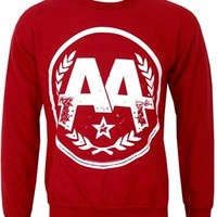 Asking Alexandria Logo Crew Neck Sweatshirt - Offical Band Merch - Buy Online at Grindstore.com