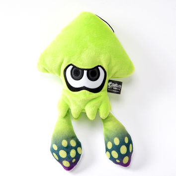 Splatoon Plush - Squid (Lime Green)