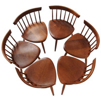 Set of 6 Mira Dining Chairs