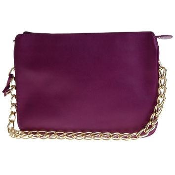 Delvaux Zip Clutch