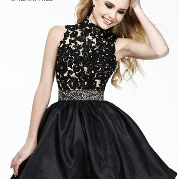 Sherri Hill 21194 Short Lace Homecoming Dress