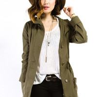 Hunter Green Army Jacket