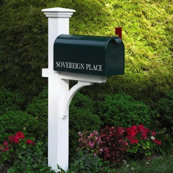 Mailbox Post - Holds Mailbox