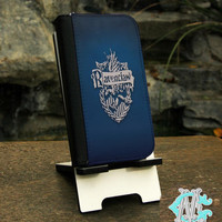 FREE SHIPPING! Harry Potter Ravenclaw - iPhone 4/4s - 5/5s - 5c - 6 Wallet Folio Case