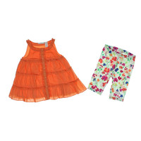 First Impressions Ruffled Infant Girls Pant Outfit