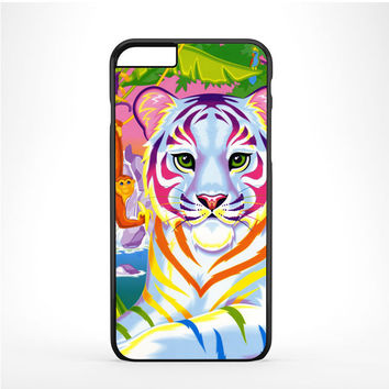 Lisa Frank Neon Tiger and Monkey 90's Iphone 6 Plus | 6s Plus Case
