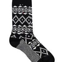 Tommy Hilfiger Fair Isle Boot Sock