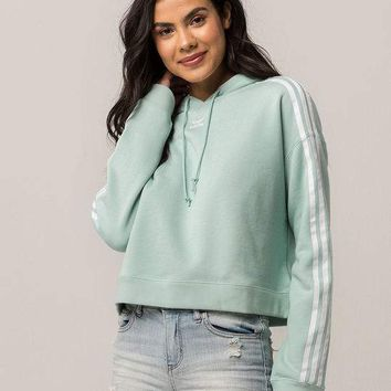 ADIDAS Originals Mint Womens Crop Hoodie