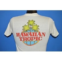 80s Hawaiian Tropic Palm Tree NCTV t-shirt Extra Small