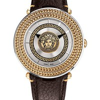 Versace - Silver V-Metal Icon 46MM