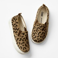 Gap Baby Leopard Slip On Sneakers