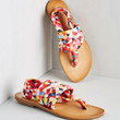 ModCloth Stay in the Loop Sandal in Tessellation