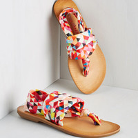 Stay in the Loop Sandal in Tessellation