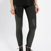 Urban Outfitters - Kill City Coated Panel Legging