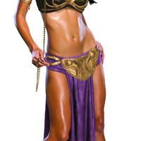 Womens Star Wars Princess Leia Slave Outfit Costume