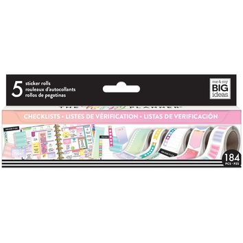 Create 365™ The Happy Planner® Sticker Rolls, Checklists