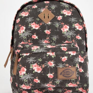 Dickies Hawaiian Canvas Backpack Black Combo One Size For Women 26663414901