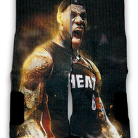 LeBron Custom Elite Socks | CustomizeEliteSocks.com™