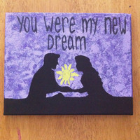 "Disney's Tangled ""Dream"" Canvas"