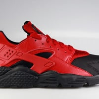 Nike Men's Air Huarache Premium Black Gym Red