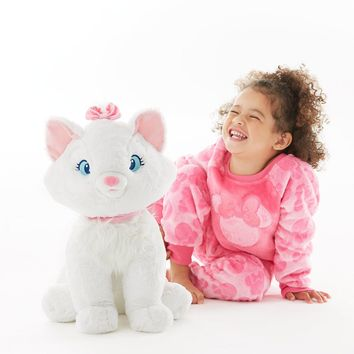 "Licensed cool Marie Cat JUMBO 19"" Plush Doll Aristocats Stuffed Animal Disney Store 2017 NWT"