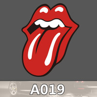 A-019 Mouth Waterproof Fashion Cool DIY Stickers For Laptop Luggage Fridge Skateboard Phone Car Graffiti Cartoon Stickers