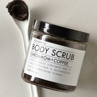Fig + Yarrow Cardamom & Coffee Body Scrub by Anthropologie Cardamom & Coffee One Size Fragrance