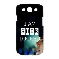 Custombox Sherlock Samsung Galaxy S3 I9300 Case Hard Case Plastic Hard Phone Case-Samsung Galaxy S3-DF00452