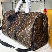 LV Printed Travel Bag with High Quality for Male and Female Shoulder Bags High-quality