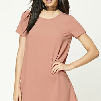 Ribbed Dolman Mini Dress