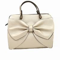 Bow-tique Bag in Pearl