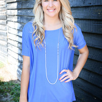Infinity Piko Top, Palace Blue