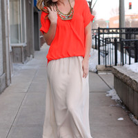 Grace and Beauty Maxi Skirt