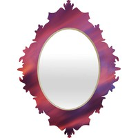 Shannon Clark Painted Sunset Baroque Mirror