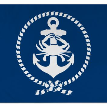 Anchor, Crab & Rope / Flag