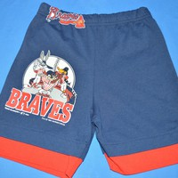 90s Atlanta Braves Bugs Bunny Boy's Shorts Size 8