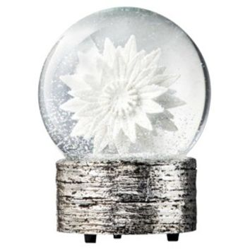 Threshold™ Snowflake Snowglobe - Silver