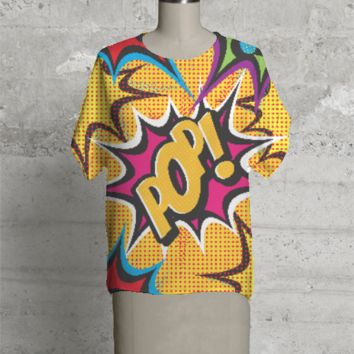 COMIC POP ART TEES