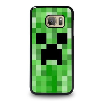 CREEPER MINECRAFT 2 Samsung Galaxy S7 Case Cover
