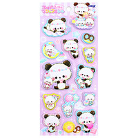 Buy Crux Moji Moji Panda Super Marshmallow Seal Stickers at ARTBOX