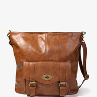 Buckled Pocket Tote