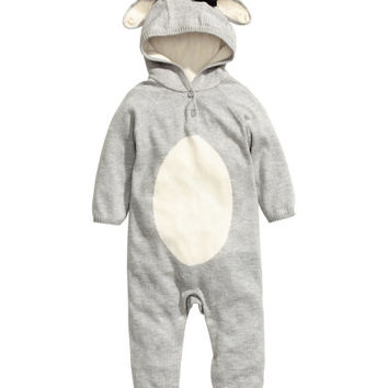 Fine-knit Snuggle Suit - from H&M