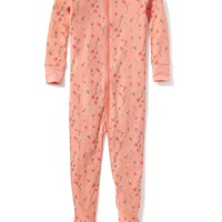 Floral-Print Footed Sleeper for Toddler & Baby | Old Navy