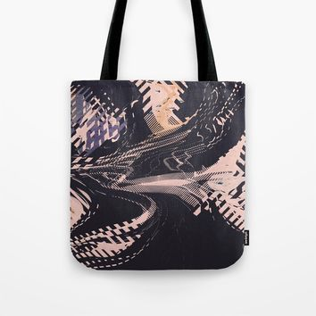 Static Tote Bag by duckyb