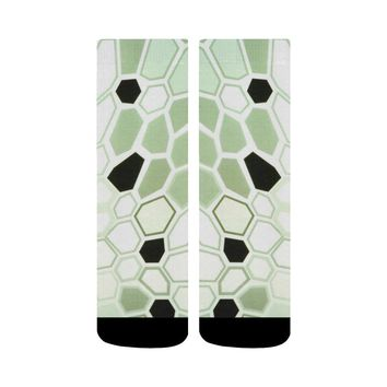 Hex Camo Design 1 Crew Socks