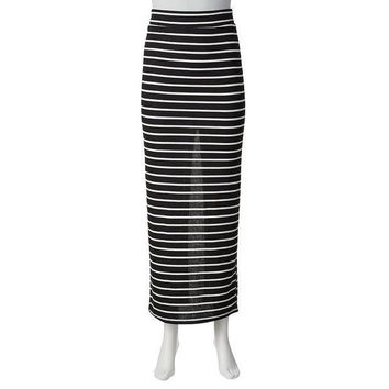 ESB7GX Joe Benbasset Juniors' Striped Maxi Skirt Size