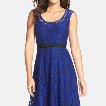 Women's Plenty by Tracy Reese 'Audrey' Floral Lace Fit & Flare Dress,